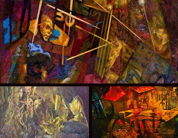 Saul Bernstein sample art